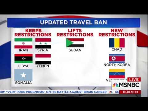 Pelosi: It's Still A Muslim Ban Even Though It Includes Non-Muslim Countries