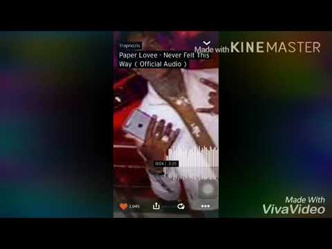 Paper Lovee-Never felt this way lyrics