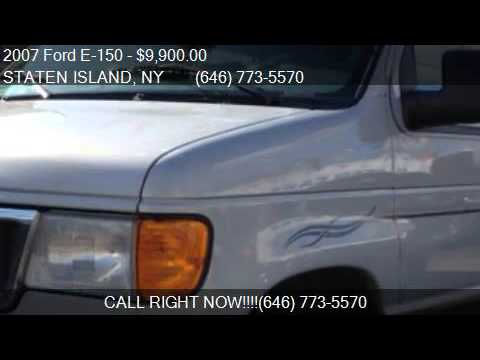 2007 Ford E 150 CONVERSION VAN For Sale In STATEN ISLAND NY