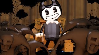 Minecraft | Bendy and The Ink Machine - INK TSUNAMI FLOODS THE STAGE! (Bendy)