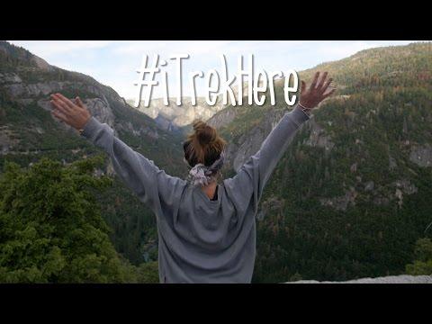 #iTrekHere  - California Calling   TrekAmerica