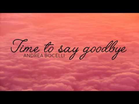 Andrea Bocelli - Time to say goodbye | KARAOKE