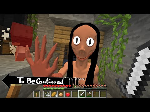 (NEW) This is Real MOMO in Minecraft To Be Continued. By Scooby Craft 3