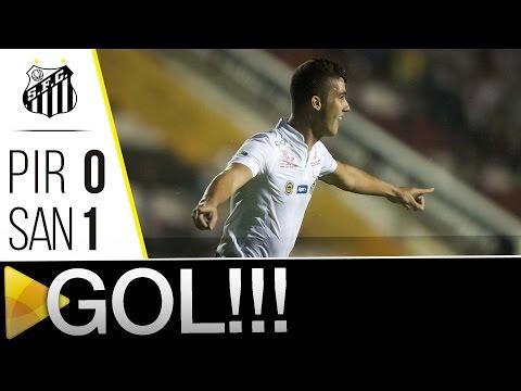 XV de Piracicaba 0 x 1 Santos | GOL | Paulistão (15/03/16)