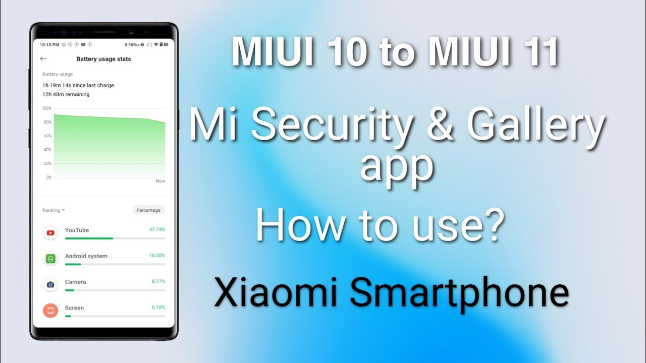 MIUI 11 Mi Security and Gallery apk for Xiaomi Smartphone, Update your MIUI  10 APS | HINDI