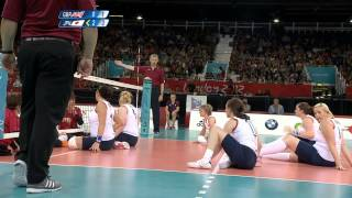 Sitting Volleyball (women) - Great Britain v Japan - London 2012 Paralympic Games