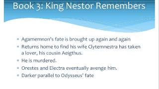 Odyssey Books 3 and 4 summary