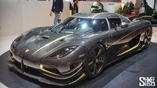Agera RS Gryphon and Regera with Christian von Koenigsegg