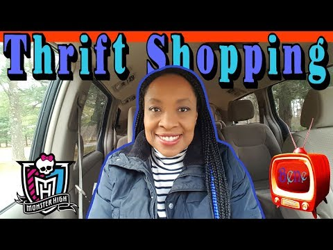 THRIFT SHOPPING - Monster High Boys And American Girl Mini Doll