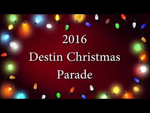 2016 Destin Christmas Parade - YouTube