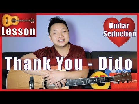 Thank You - Dido Guitar Tutorial