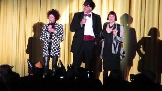 Little Nell, Barry Bostwick, Patricia Quinn 40th Rocky Horror Picture Show Ziegfeld NYC 9/26/15