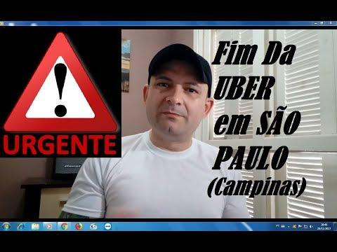 🚨URGENTE!!! FIM DA UBER EM SÃO PAULO (Campinas)🚨