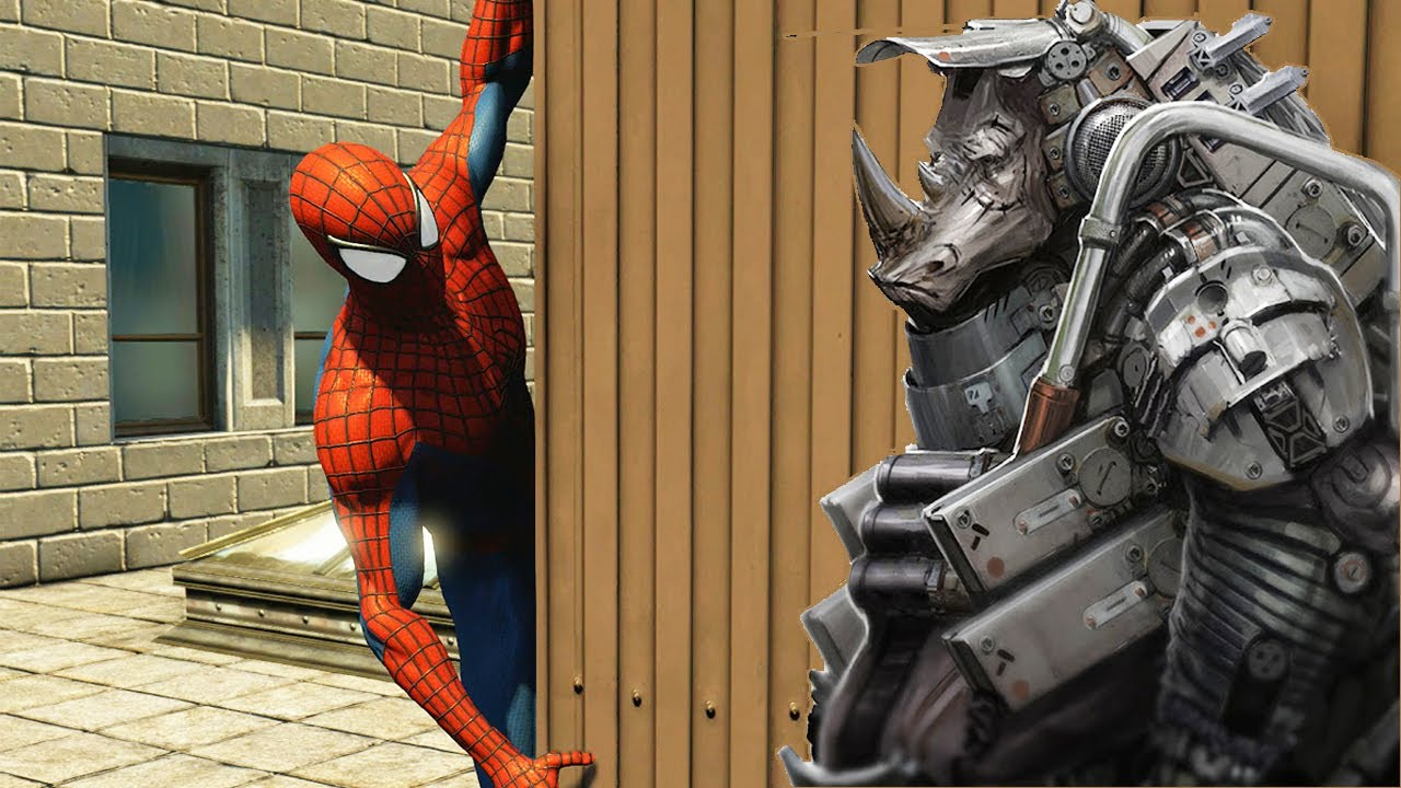 easter egg rhino met225lico no the amazing spiderman 2