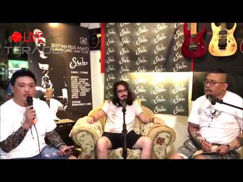 GUITARSOUL 吉他魂 x Mateus Asato ASIA TOUR @TAIWAN 台灣行 獨家專訪直播片段 Suhr Guitars