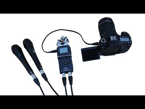 Zoom H5 Recorder | Part 1: Connecting Pro Mics to DSLR