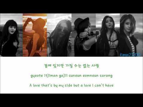 T-Ara - Hurt (아파) [Hangul/Romanization/English] Color & Picture Coded HD