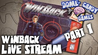 Bam Plays Live: Winback (N64) (Part 1)