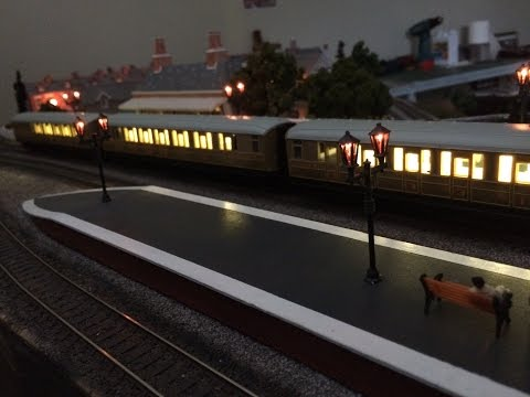 Simple Coach Lighting - Improving the Hornby Railroad Teaks - Part 1