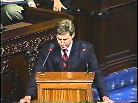 MA State Representative Bruce Ayers Maiden Speech