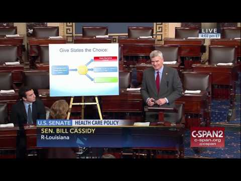 Cassidy speaks on the Senate floor on the Patient Freedom Act of 2017