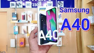 SAMSUNG GALAXY A40 UNBOXING | Cute Mobile Phone