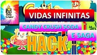 Vidas Infinitas no Candy Crush Soda e Saga 2017