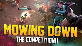 MOWING DOWN THE COMPETITION!! Vainglory 5v5 Gameplay - Skye |CP| Jungle Gameplay