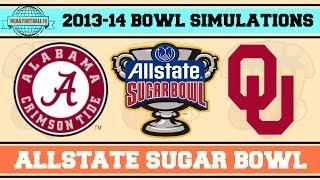 allstate sugar bowl alabama vs oklahoma ncaa football 14