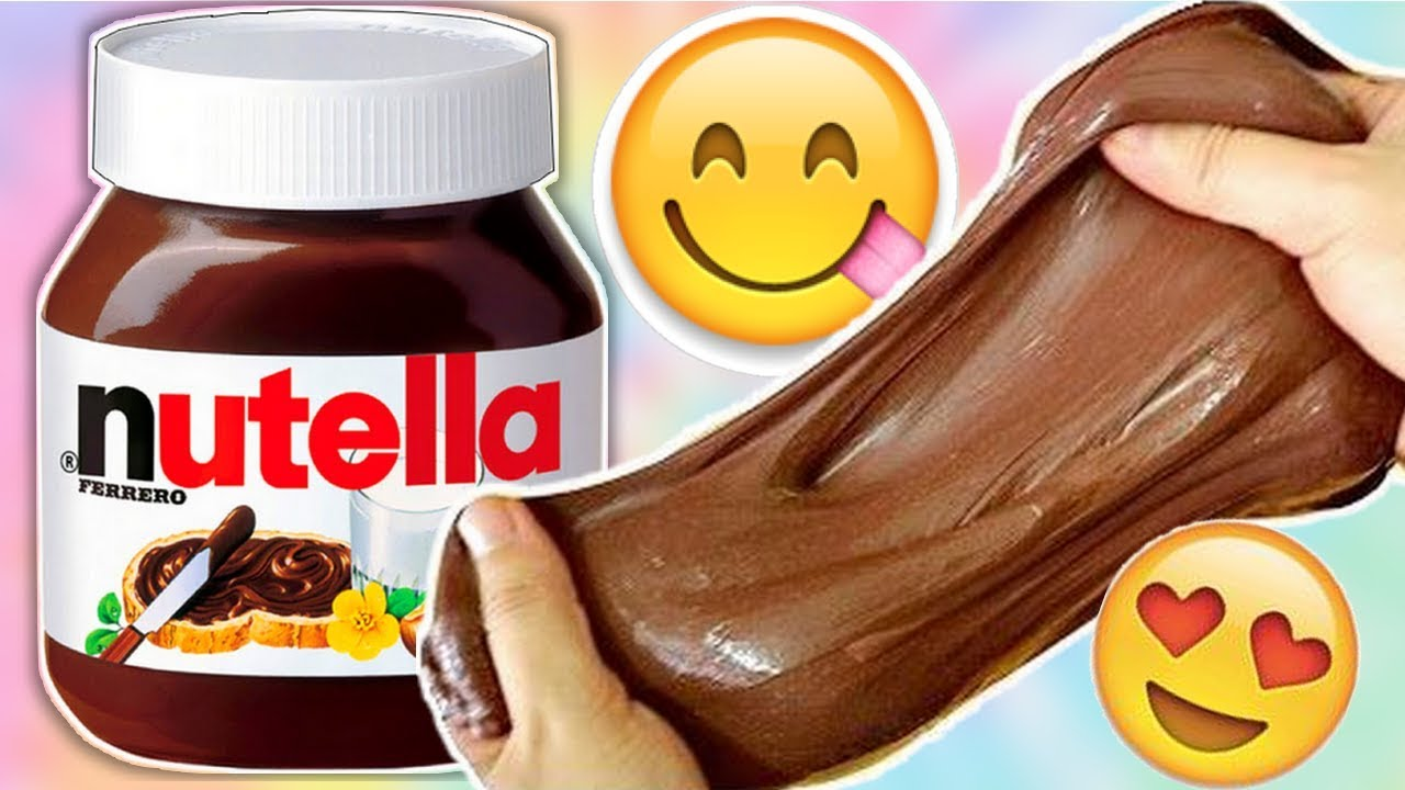 comment faire du slime comestible au nutella youtube. Black Bedroom Furniture Sets. Home Design Ideas