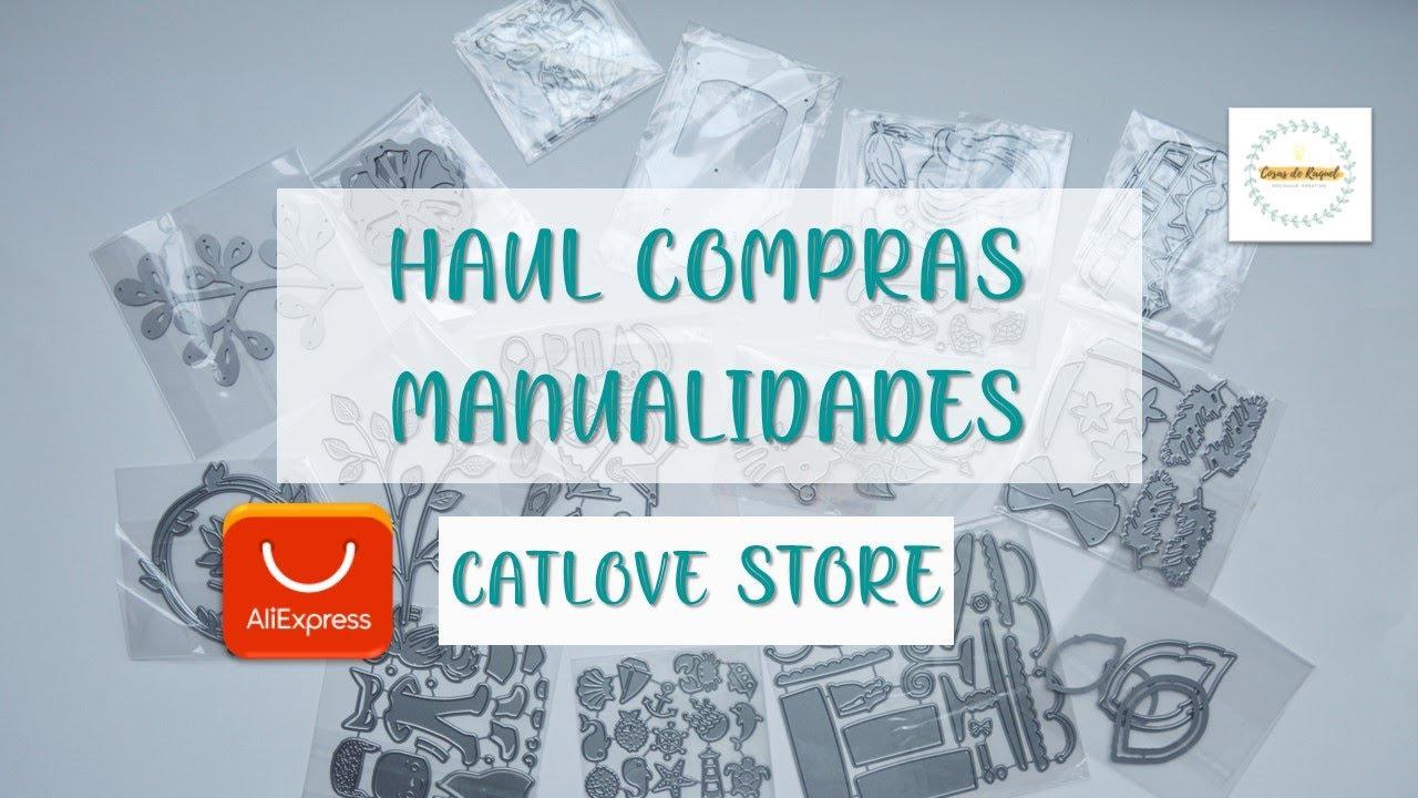 Haul compras manualidades Aliexpress | Catlove Colaboración