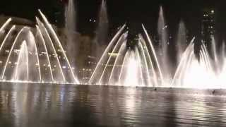 Burj dubai Fountain(Indian Music)[HD]