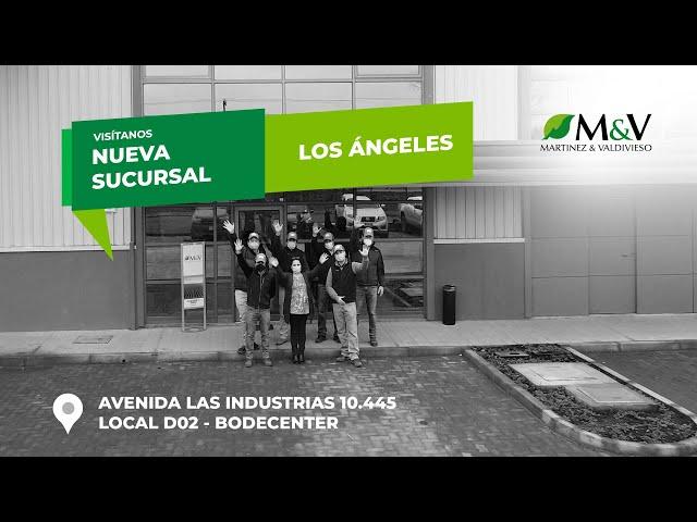 Nueva sucursal M&V en Los Ángeles
