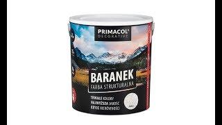 Farba strukturalna Baranek Primacol Decorative - film instruktażowy