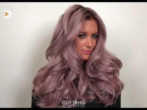Mauve Metallic Hair Color Youtube