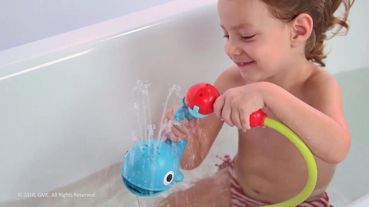 Yookidoo Okręt Podwodny Z Prysznicem Wieloryb Youtube