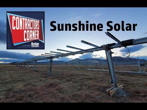 Contractors Corner: Sunshine Solar