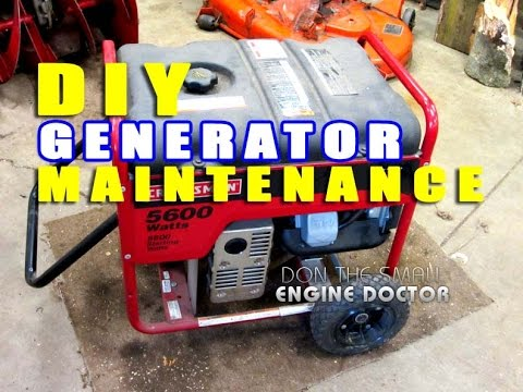 Easy DIY Generator Maintenance For A Guaranteed Start Every Time!
