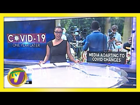 Covid-19 Impact on Jamaica's Journalists   TVJ News