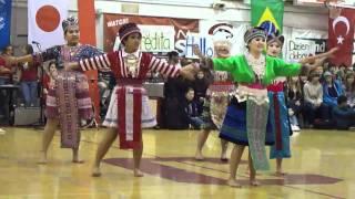 Hmong Dancers CHS Rally 2011