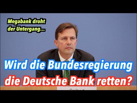 Deutsche Bank droht der Untergang: Bundesregierung bereitet Rettung angeblich nicht vor