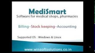 This video tutorial is an introduction to our medical shop software (pharmacy software) pc clerk medismart. medismart a fully functional feature rich adva...