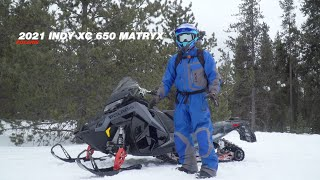 2021 Polaris Indy XC 650 Matryx