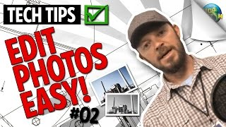 How to Edit Photos on your Desktop or Laptop - EASY!