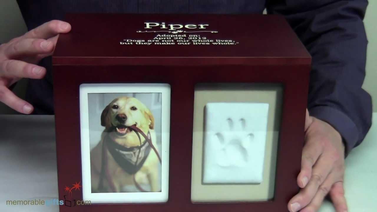 Fabulous Pet Memory Box | Personalized Pet Gifts - YouTube ZK17