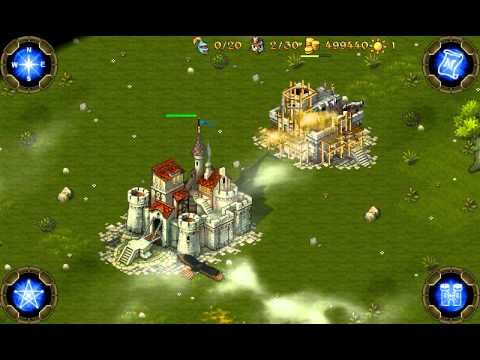 Majesty: Northern Expansion - Mobile Gameplay