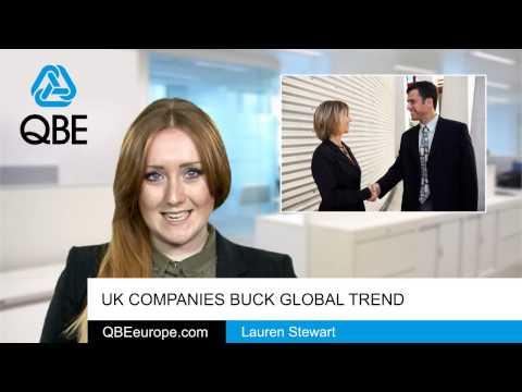 UK companies buck global trend