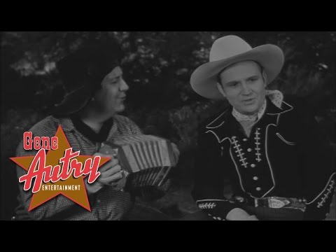 Gene Autry & Smiley Burnette - It Was Only A Hobo's Dream (from Mountain Rhythm 1939)