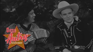 Gene Autry and Smiley Burnette - It Was Only A Hobo's Dream (from Mountain Rhythm 1939)