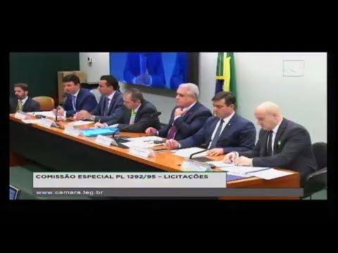 PL 1292/95 - LICITAÇÕES - Reunião Deliberativa - 18/04/2018 - 14:32